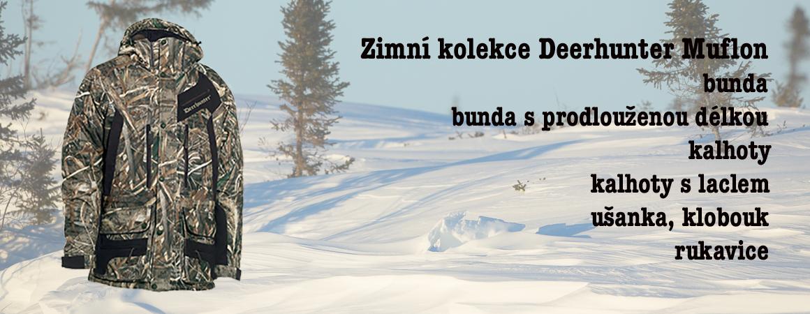 Zimní kolekce Deerhunter Muflon